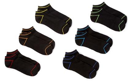 12-Pack of Ecko Unltd Men's No Show Cushion Sole Socks