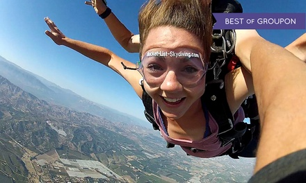 $159 for a Tandem Skydiving Jump with a Souvenir T-shirt from DC Skydiving Center ($329 Value)