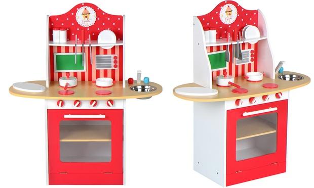 Cucina giocattolo in legno | Groupon Goods