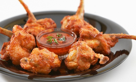 Indian and Asian Fusion Cuisine at Masala Wok (40% Off). Two Options Available.