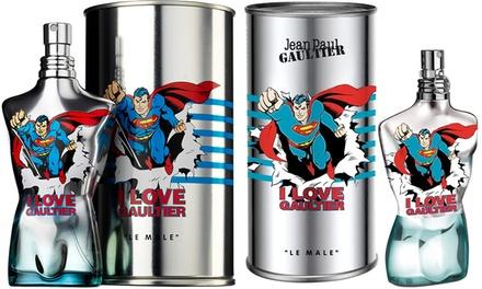 Eau de toilette Le Male Eau Fraîche Superman de Jean Paul Gaultier 75 ml ou 125 ml pour homme