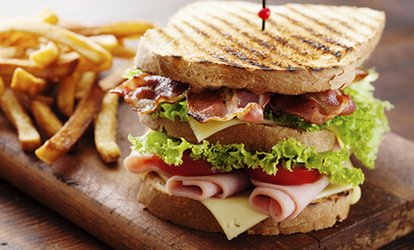 image for Sandwich, Soup and Drink for Two or Four at The Workers' Cafe (Up to 51% Off)