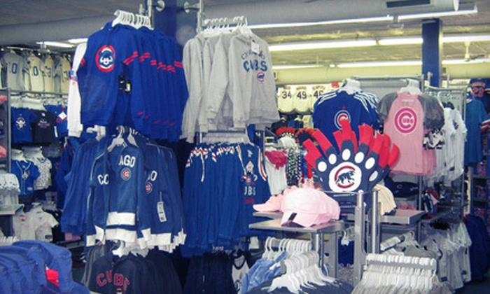 Wrigleyville Sports - Lakeview: Sports Apparel and Souvenirs at Wrigleyville Sports (Half Off). Two Options Available.
