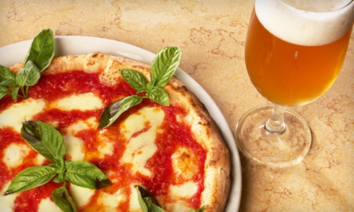 Pete's Restaurant & Brewhouse - Central Sacramento: One Extra-Large Pizza and Pizza-Dough Knots or $10 for $20 Worth of Pizza and Pasta at Pete's Restaurant & Brewhouse