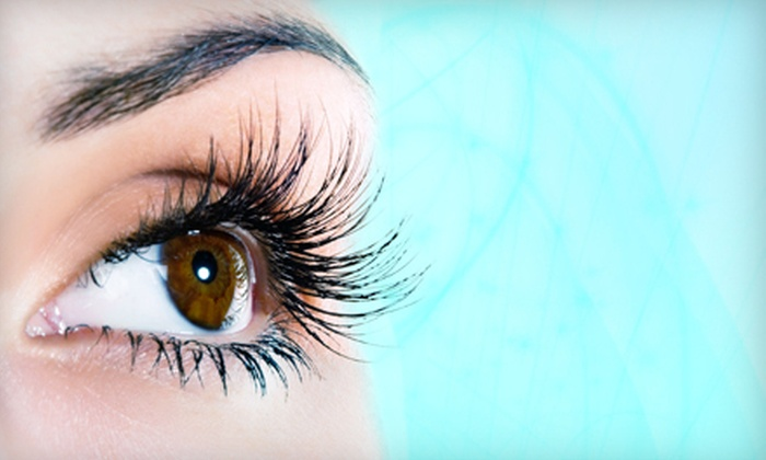 The Doll House Beauty Lounge - Corona: Full Set of 30, 50, or 100 Eyelash Extensions at The Doll House Beauty Lounge in Corona (Up to 65% Off)