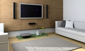 HD Hookups: $89 for Flat-Screen TV Wall Mounting and Installation of Receiver and DVD from HD Hookups ($180 Value)
