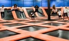 Flip'z Trampoline Park - PicaPica Plaza: Two-Hour Visit for Two or Four or Party Package for Up to 10 at Flip'z Trampoline Park (Up to 50% Off)