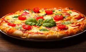 Pegasus Pizza & Pasta: Casual Italian Food at Pegasus Pizza & Pasta (Up to 50% Off). Three Options Available.