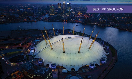 Up at the O2 Winter Climbing Experience with Photo in Frame and £5 Groupon Credit at Ansco Roofwalk (30% Off)