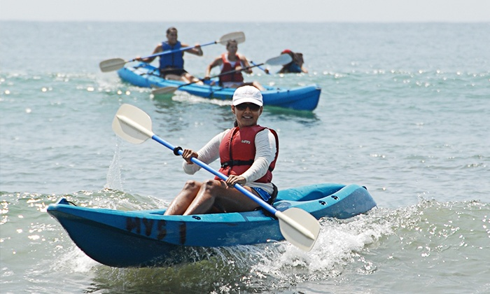 Celebrate Life - Goleta Beach: Two-Hour Ocean Kayak Adventure for Two or Four at Celebrate Life (60% Off)