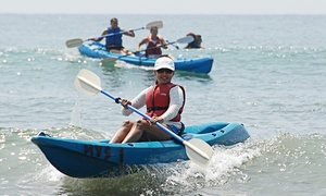 Celebrate Life: Two-Hour Ocean Kayak Adventure for Two or Four at Celebrate Life (60% Off)