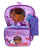 Doc McStuffins Backpack and Lunchbox Combo (3-Piece)