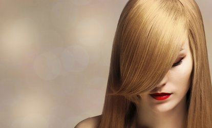 image for Wash and Cut or Restyle, with Blow-Dry and Conditioning Treatment at CNV Hairdressing (64% off)