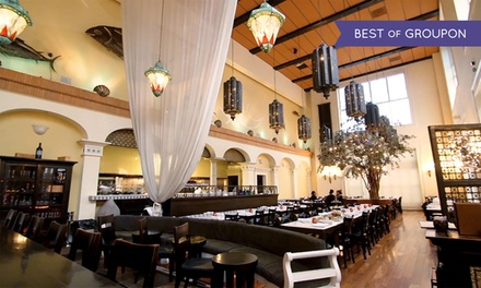 Up to 30% Off Turkish and Greek Dining at Thea Mediterranean