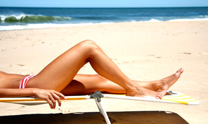 Results Professional Tanning & Nutrition - Dallas: One or Two Custom Spray Tans or Two Weeks of UV Tanning at Results Professional Tanning & Nutrition (Up to 78% Off)