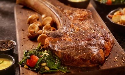 Menú Culinary Art o Tomahawk para 2 o 4 con entrante, principal, postre y botella de vino desde 24,90€ en T-Bonet
