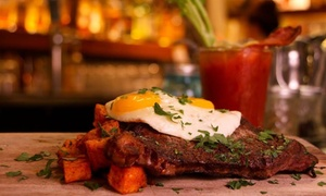 The Local Kitchen & Wine Merchant: $58 for Bottomless Champagne Brunch for Two at The Local Kitchen & Wine Merchant ($120 Value)