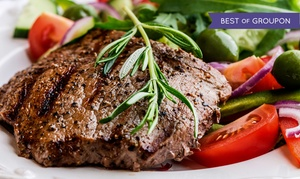 The Poplar Inn: Steak and Seafood for Two or Four at The Poplar Inn (Up to 48% Off)