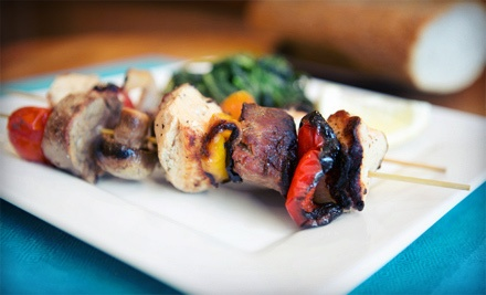 Globally Inspired Greek Dinner for Two or Four at Fresco Greek Tavern (Half Off)