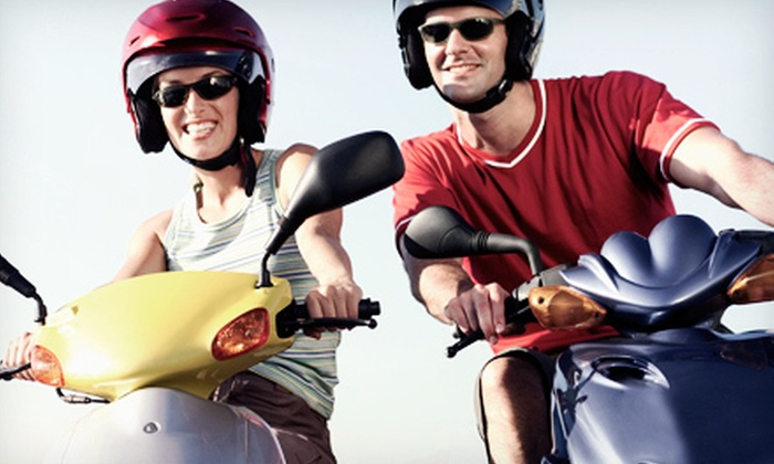 Beach Classic Scooter - Port Canaveral: Scooter Tour for Two or Four at Beach Classic Scooter (Up to 51% Off)