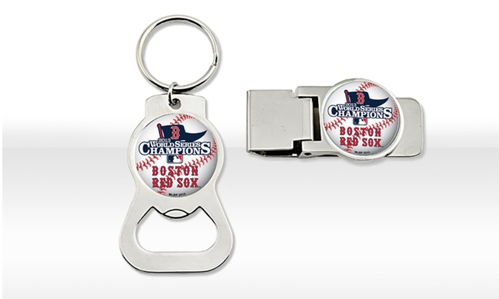 Boston Red Sox 2013 MLB World Series Champions Gift Set: Boston Red Sox 2013 MLB World Series Champions Gift Set with Money Clip and Bottle Opener with Key Ring. Free Returns.