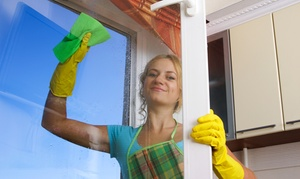 Lucky Jaycee Home Services: Interior and Exterior Window Cleaning from Lucky Jaycee Home Services (Up to 63% Off)
