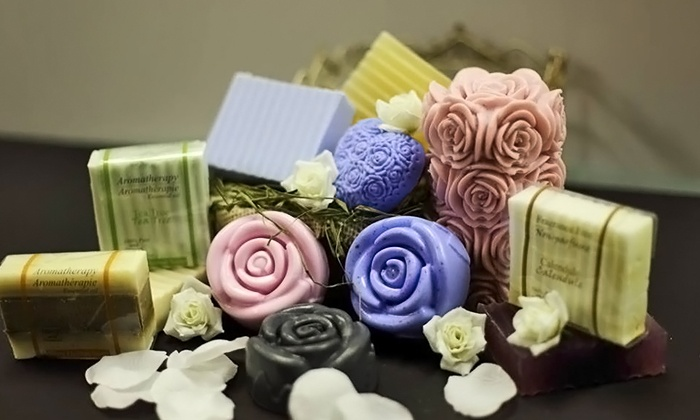 Grasse Canada Inc. - Richmond Hill: Two-Hour Soap-Making and Bath Bombs Class for One or Two at Grasse Canada Inc. (Up to 56% Off)