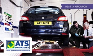 ATS Euromaster: MOT Test at ATS Euromaster, Multiple Locations (33% Off)