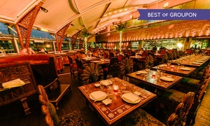 Gilgamesh: Gilgamesh: Three-Course Pan-Asian Dining Experience Plus Champagne Cocktails from £24.50, Camden Lock (Up to 69% Off)