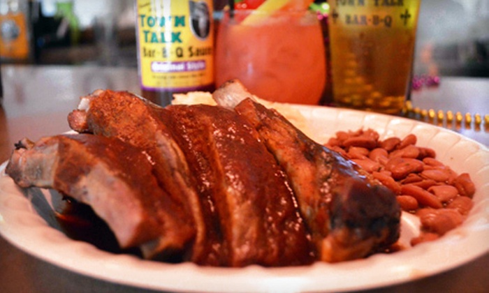Town Talk II - Encanto: $12 for Two $12 Groupons Good for Barbecue at Town Talk II