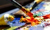 Art in the Vine: Adult BYOB Painting Class for One or Two at Art in the Vine (49% Off)