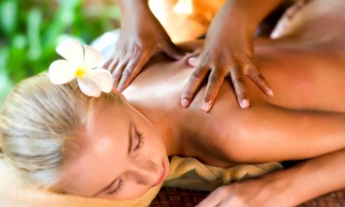 Rejuv Health Makeovers - Longmont: 60-Minute Custom Massage with Option for 30-MinSugar or Salt Scrub at Rejuv Health Makeovers (Up to74%Off)