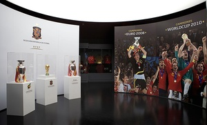 1, 2 o 4 entradas para el Museo de la Selección española desde 3 € en la Ciudad del Fútbol de Las Rozas