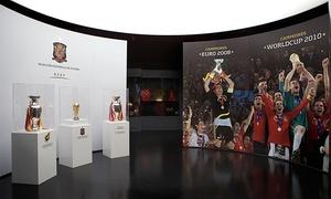 MUSEO DE LA SELECCION: 1, 2 o 4 entradas para el Museo de la Selección española desde 3 € en la Ciudad del Fútbol de Las Rozas