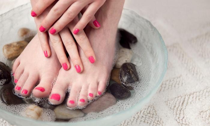 Envi Nails Salon and Spa - Hamilton Township: One or Two Mani-Pedis at Envi Nails Spa (Up to 50% Off)