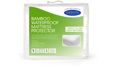 From $19 for a Jason Bamboo Waterproof Mattress Protector (Don't Pay Up to $53.97)