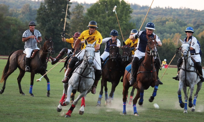 Saratoga Polo Association - Saratoga Polo Association: $20 for a Friday or Sunday Evening Polo Match for Two at Saratoga Polo Association from July 11 to August 31 ($40 Value)