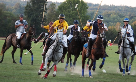 $20 for a Friday or Sunday Evening Polo Match for Two at Saratoga Polo Association from July 11 to August 31 ($40 Value)