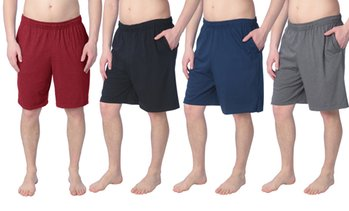 Fruit of the Loom Men's Lightweight Cotton Sleep Shorts
