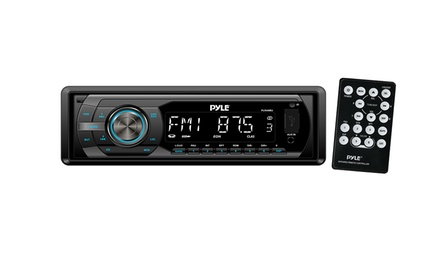 In-Dash AM/FM Detachable Face Receiver with MP3 Playback