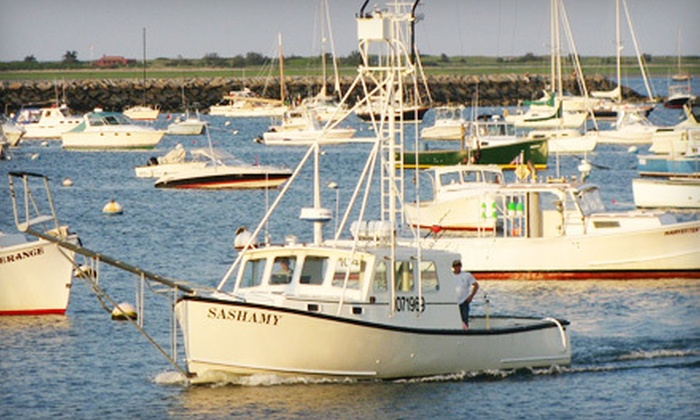 Sashamy Sportfishing - Plymouth: $425 for a Five-Hour Fishing Trip for Up to Six from Sashamy Sportfishing in Plymouth ($725 Value)