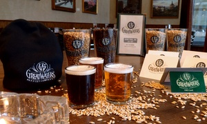 Great Waters Brewing Company: Beer Flights or $125 Gift Card Towards Food and Drinks at Great Waters Brewing Company (Up to 52% Off)