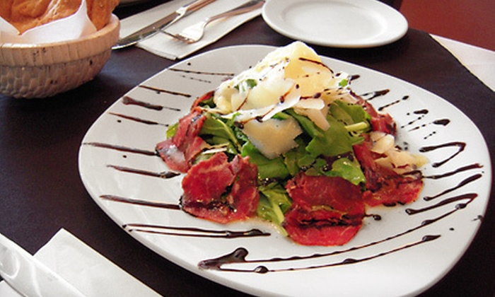 Baldini - Baldini Restaurant: Three-Course Italian Meal for Two or Four at Baldini (Up to 54% Off)