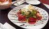 Baldini - Baldini Restaurant: Three-Course Italian Meal for Two or Four at Baldini (Up to 54% Off)