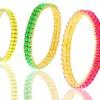 2-Row, Resin Stone Stretch Bracelet