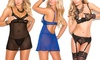 Elegant Moments Cupless Lingerie Sets: Elegant Moments Cupless Lingerie Sets