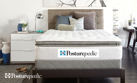 groupon daily deal - Sealy Posturepedic Gel Series Plush Mattress Sets from $699.99–$1,099.99. Free White Glove Delivery. 10-Year Warranty.