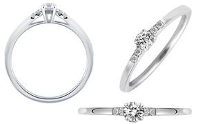 Anello Forever con diamanti