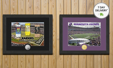 NFL Stadium Photo Mint. Multiple Stadiums Available. Free Returns.