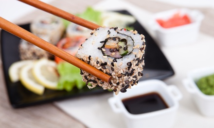 $15 for $30 Worth of Japanese Cuisine at Raku Sushi & Lounge